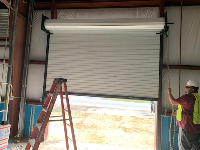 Eglin Afb Overhead Service Door Installation