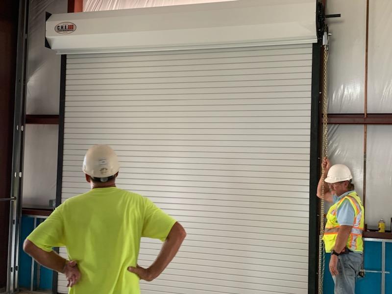 Eglin Afb Overhead Service Door Installation