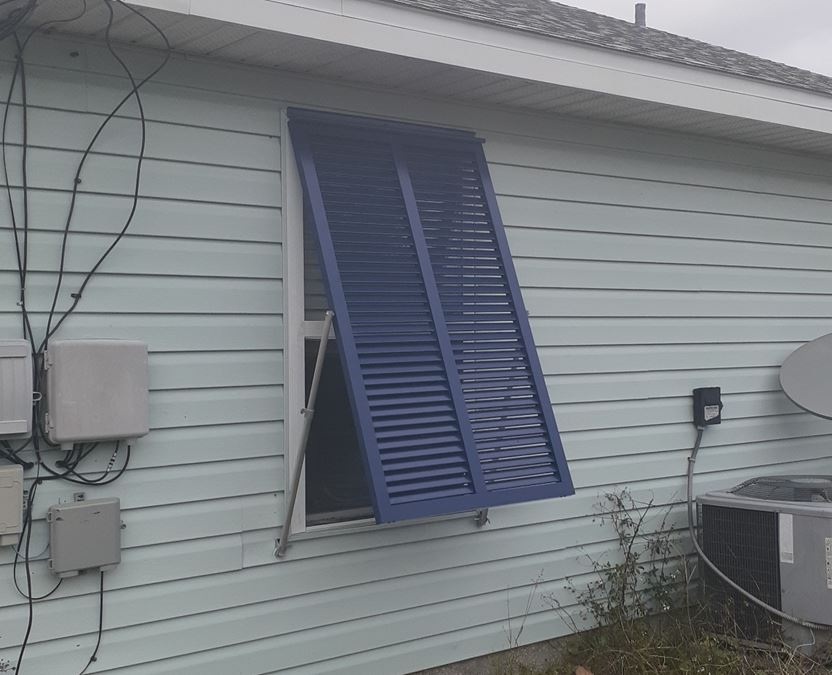 Hurricane Shutters Beach Houses