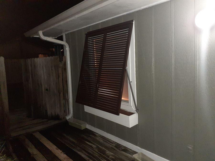 Bahama Shutters Installation In Panama City Fl