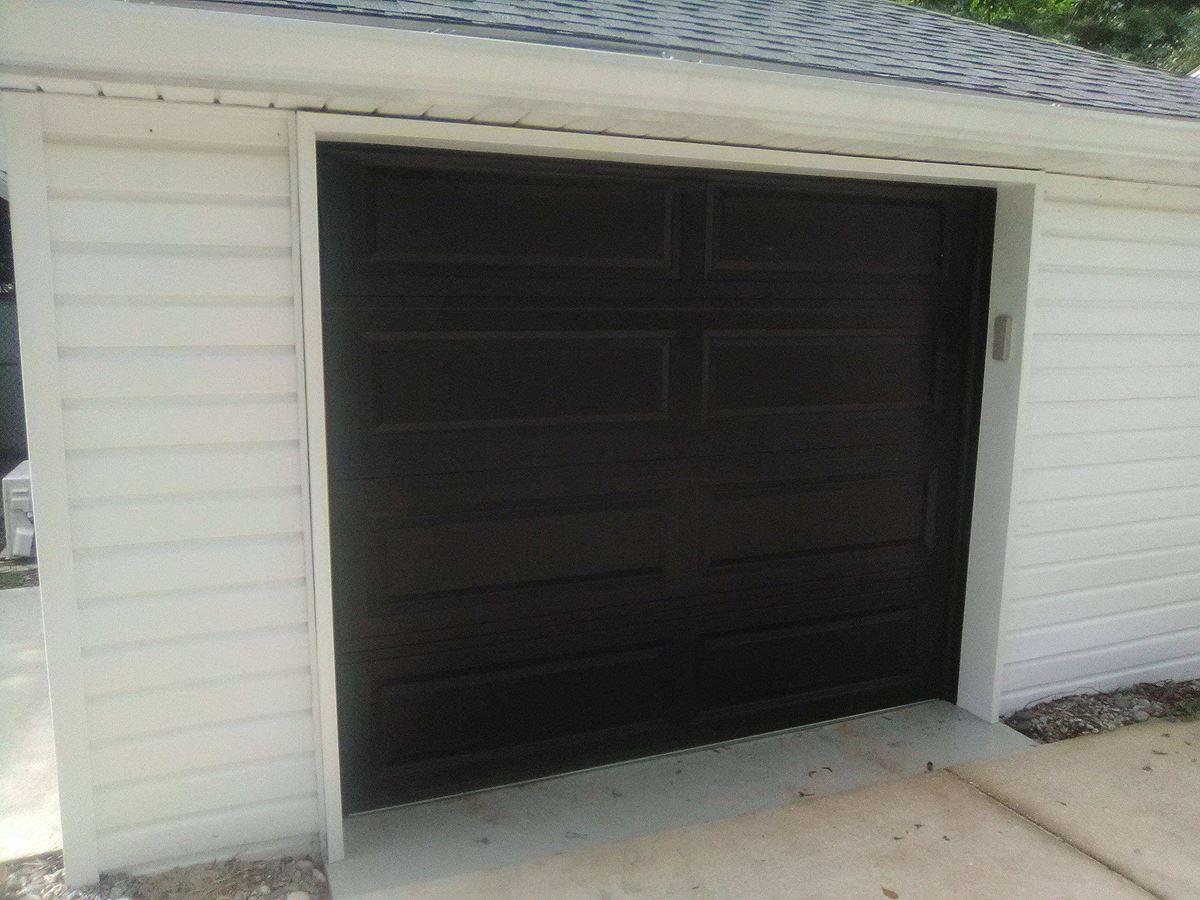 Three Single Car Garage Door Installations In Pensacola Fl