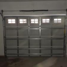 C H I Garage Door Installation With Stockton Window